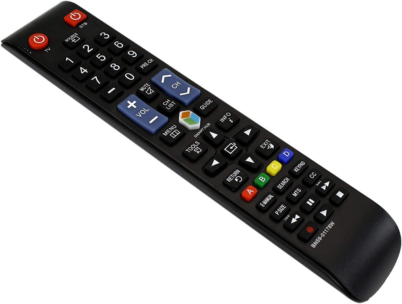 Universal Remote Control BN59-01178W for Samsung Smart-TV HDTV LCD LED TVs