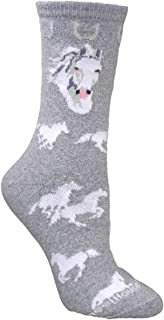 product image for Wheel House Designs Women's White Horse Socks