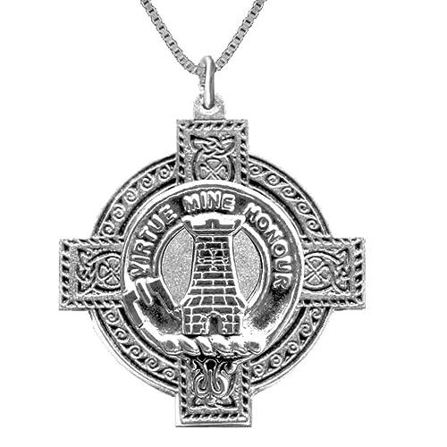 Amazon maclean scottish clan crest celtic cross pendant handmade maclean scottish clan crest celtic cross pendant aloadofball Image collections
