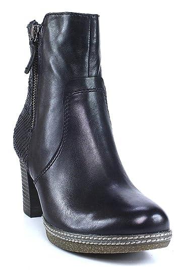 48d4b078a3c14d Gabor Comfort 32.871 Damen Stiefel Stiefelette (Ankle Boots) mit  Reißverschluss mit Blockabsatz Leder  Amazon.de  Schuhe   Handtaschen