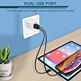 Wall Charger, Ailkin [3-Pack] 5V/2.1AMP Colorful