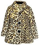 Widgeon Little Girls' Button Front Faux Fur Coat