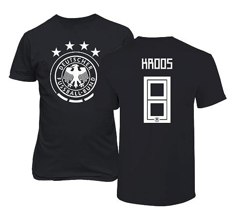 59a24162 Tcamp Germany 2018 National Soccer #8 Toni KROOS World Championship Men's T- Shirt (