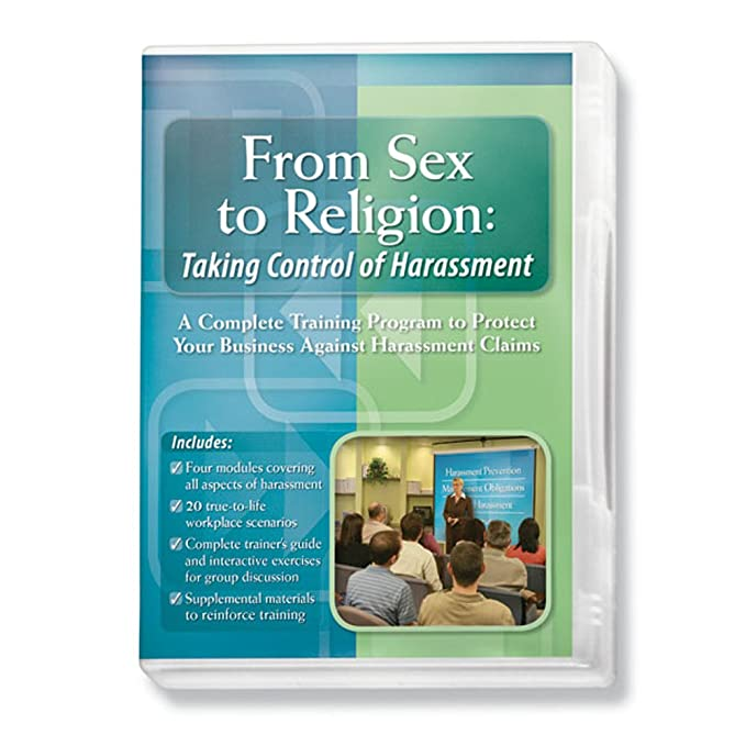 Amazon com: ComplyRight D0814 From Sex to Religion DVD: Office Products