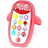 Sommer Teething Phone Toy for Babies with Removable Soft Case, Lights, Music and Adjustable Volume - Play and Learn for…