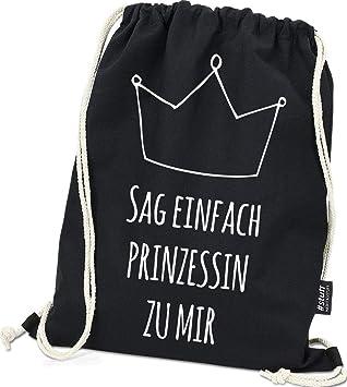 4ef80f4de7936 Hashtagstuff® Turnbeutel mit Sprüchen Designs auswählbar Kordel Schwarz  Spruch Rucksack Jutebeutel Sportbeutel Gymbag Beutel Hipster
