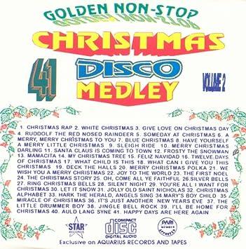 Non Stop Christmas Music.41 Golden Non Stop Christmas Disco Medley Vol 2