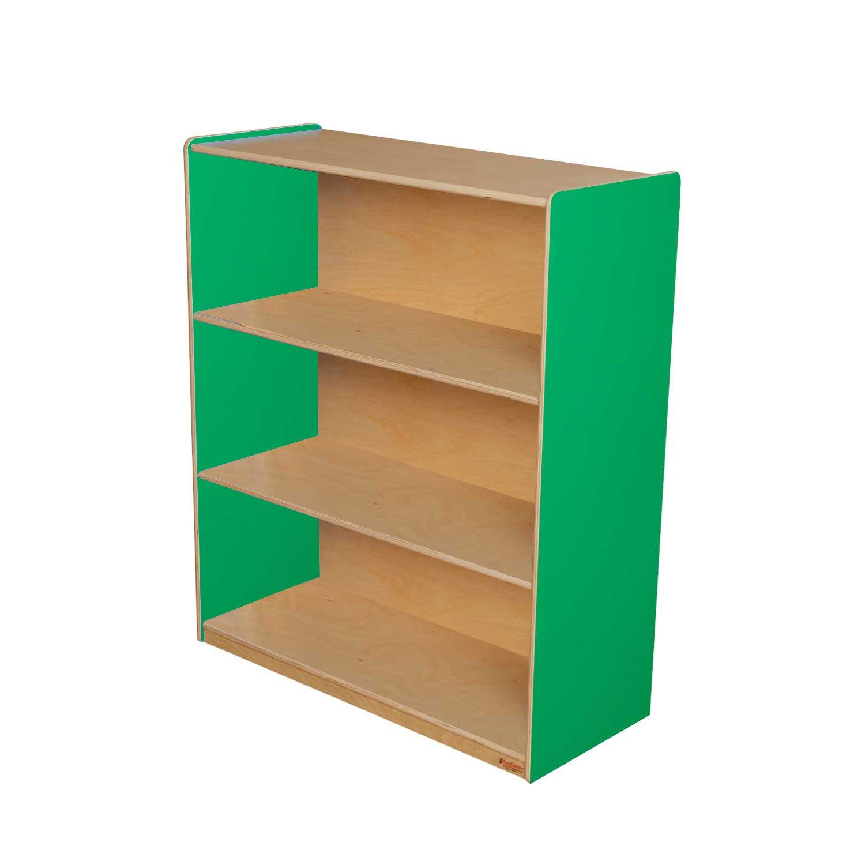 Healthy Kids Colors WD12942G Green Apple Bookshelf, 42''H