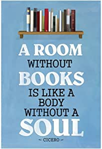 Poster Revolution A A Room Without Books Cicero Quote Poster