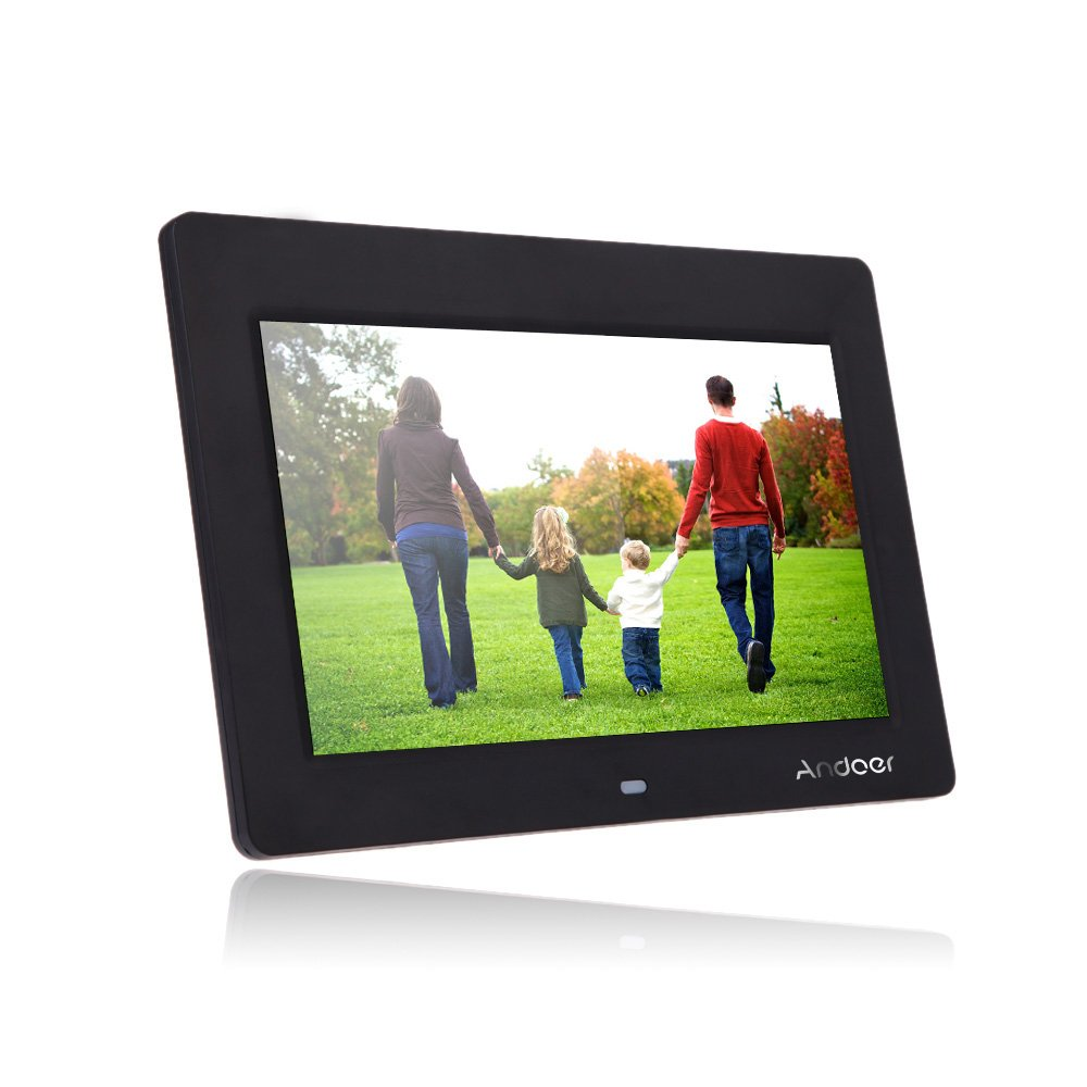 Amazon.com : Andoer HD TFT-LCD Digital Photo Picture Frame 10 inch ...