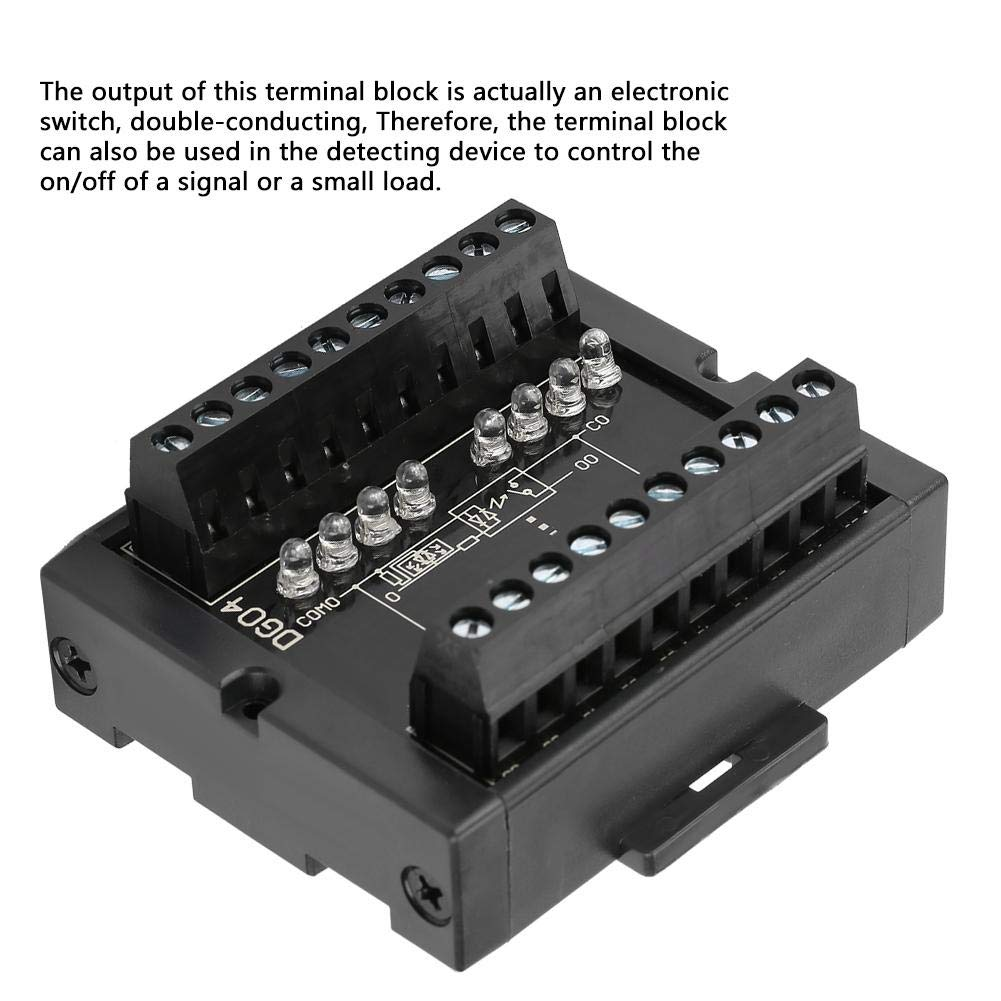 DG04 8-Channel NPN to PNP Signal Conversion Level Converter Wide Voltage 10-28V