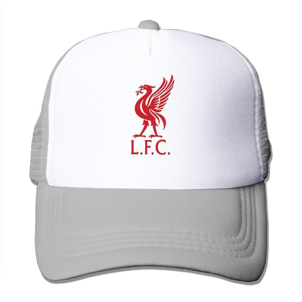 Hittings Swag UEFA Champions League Liverpool Fc Emblem Adult Nylon Adjustable Mesh Hat Baseball Cap Black One Size Fits Most Red