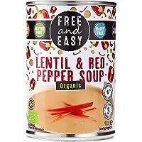 Free & Easy Lentil & Red Pepper Soup, 400g