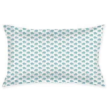 Amazon.com: YABABY - Funda de almohada con estampado de luna ...