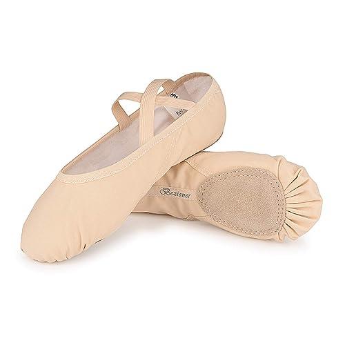 Amazon.com: Zapatos de ballet para mujeres y niñas ...