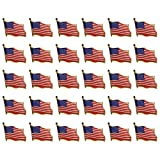 30PCS-American-Flag-Waving-Lapel-Pins-United-States-USA-Badge-Pin-by-CSPRING