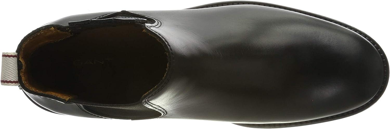 GANT ASHLEY dames chelsea-boots Zwart Black G00