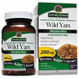 Nature's Answer Wild Yam Root Standardized, Vegetarian Capsules, 60-Count