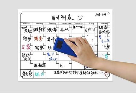 Vidillo Calendario Magnético para Nevera, Planificador Mensual de ...