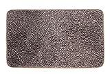 Mud Trap Original Domani Super Absorbent Indoor Floor Mat 18' x 30' Brown/Tan Cotton and Microfiber Non-Slip Base