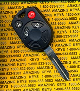 Keyless2go New Keyless Entry Remote Key Replacement For Select Ford