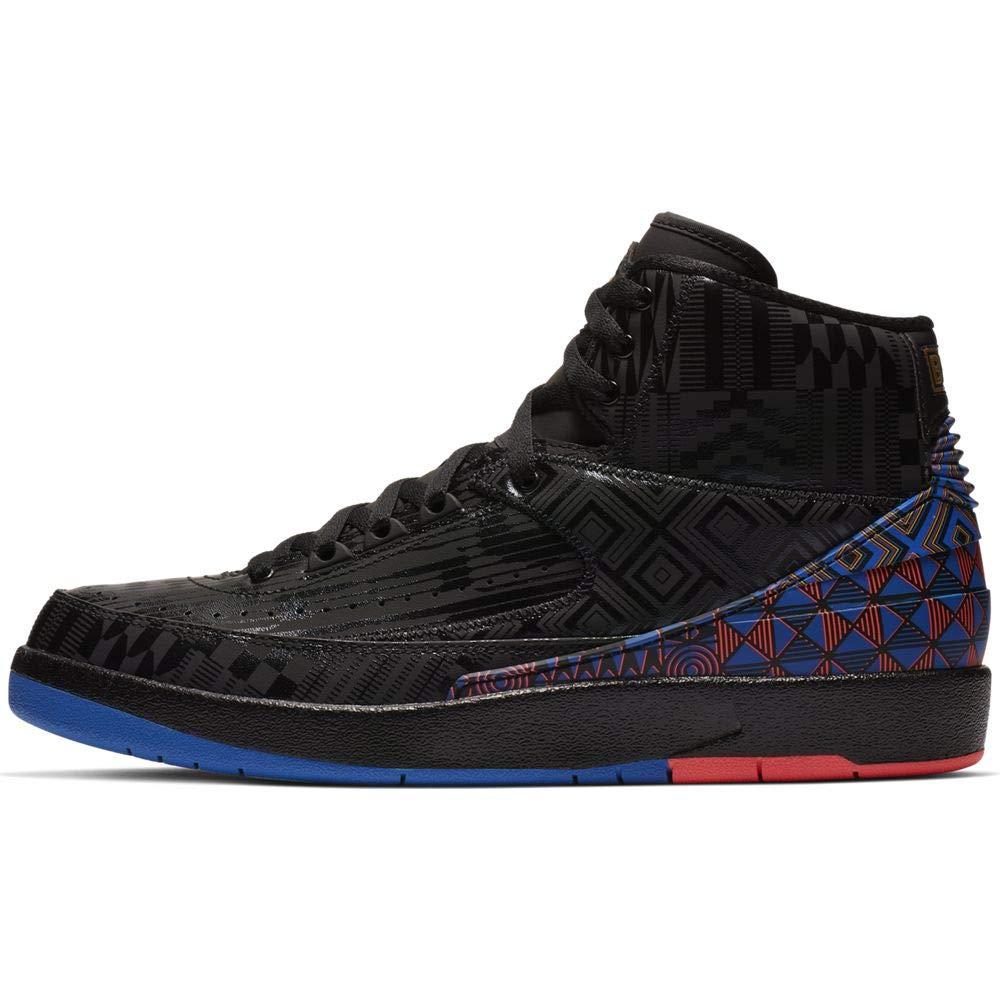 Nike Air Jordan 2 Retro BHM 黒 History Month BQ7618-007 Basketball Shoes (10.5)