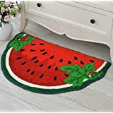Patty Both Cute Watermelon Interior Door Mat Carpet Sitting Room Carpet for Gifts 50cm*80cm