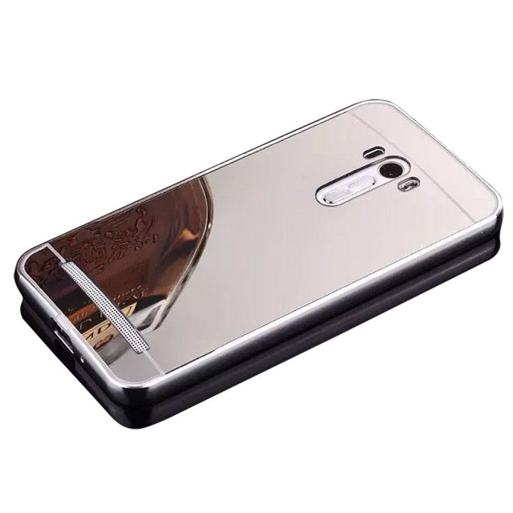 Asus ZenFone 2 Laser Funda, Vandot Duro Híbrido Carcasa para Asus ZenFone 2 Laser ZE500KL / ZE501KL 5.0 PREMIUM Bumper Case del Metal Aluminio + PC ...