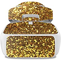 Skin For DJI Goggles – Gold Tiles | MightySkins Protective, Durable, and Unique Vinyl Decal wrap cover | Easy To Apply, Remove, and Change Styles | Made in the USA