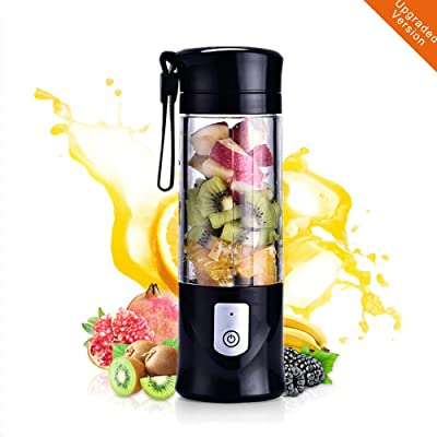 Portable Mini Travel Fruit USB Juicer Cup, Pers...