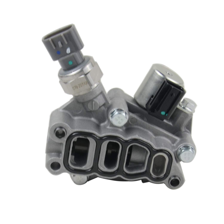 TIKSCIENCE VTEC Solenoid Spool Valve Kit with Gasket Fit for Honda Accord Odyssey Pilot 2005 2006 2007 Engine V6 3.5L 3.0L Replacement Part 15810-RKB-J01