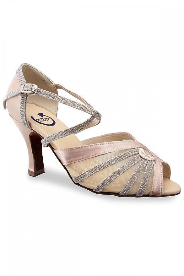 4cfa0d511cc1 RoTate Amy Ladies Ballroom Shoes 6.5 Flesh  Amazon.co.uk  Sports   Outdoors