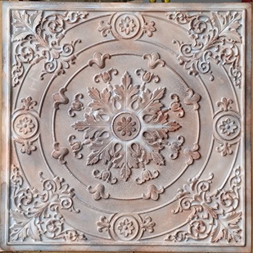 Drop in Ceiling Tiles Faux Tin Painted countrystyle bar Wall Panels PL18 10pcs/lot
