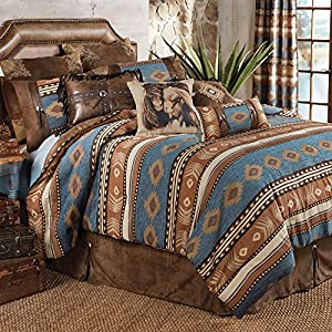 Amazon Com Desert Arrow Southwestern Bed Set Full Queen