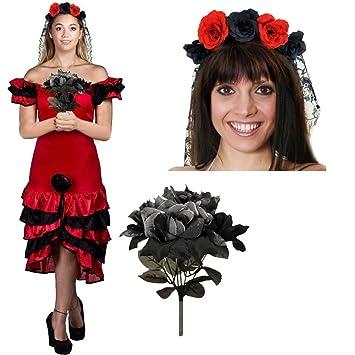Frauen Day Of The Death Oder Halloween Fasching Und Karneval Kostum