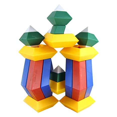 Amazon 15pcsset Kids Toys Diamond Changeable Building Blocks