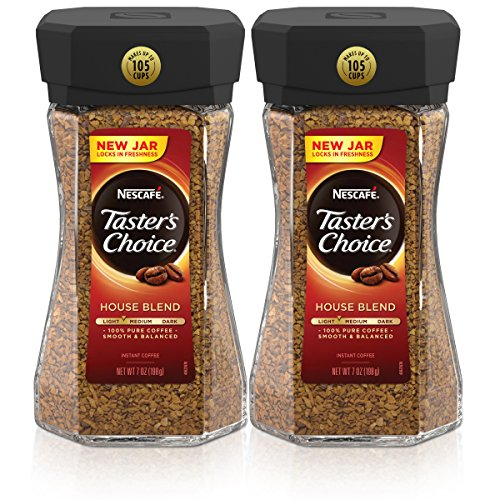 - Nescafe Taster's Choice House Blend Instant Coffee, 7 Ounce (Pack of 2)