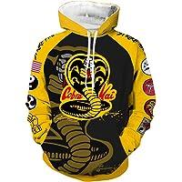 VOSTE Karate Dojo Cosplay Hoodie 3D Printed Jacket Pullover Sweatshirt Shirt