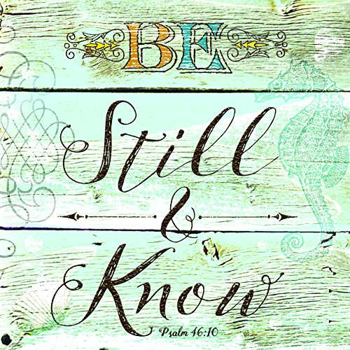 Be Still and Know Wood Look 20 Count 3-Ply Paper Luncheon Napkins Pack of 2 by Divinity Boutique