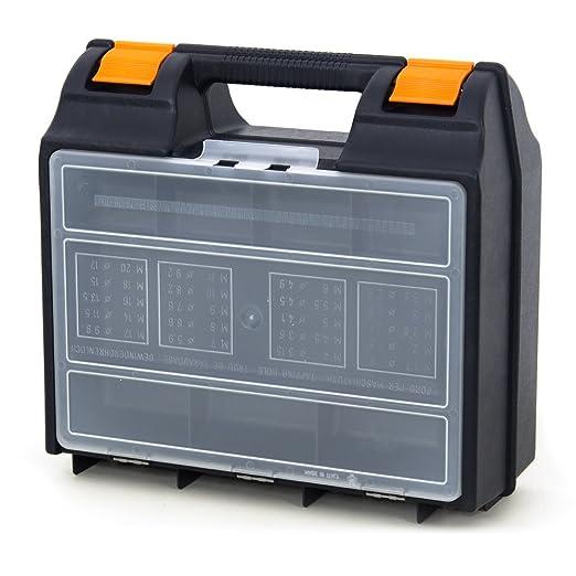 2 opinioni per Cassetta portatrapano valigetta porta inserti punte accessori trapano SBOX.PT