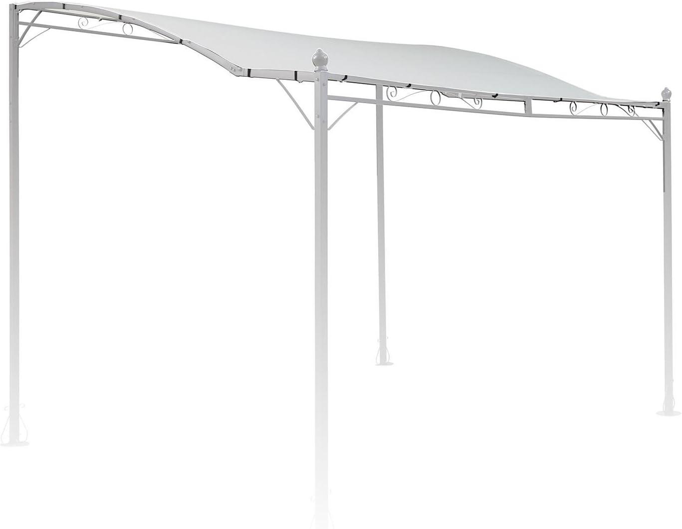 blumfeldt Allure Roof - Toldo Beige de Repuesto para pérgola Allure, Medidas: 3 x 2, 5 m, Resistente Exterior, Poliéster 180 g/m², Protección Ultravioleta, Beige: Amazon.es: Jardín