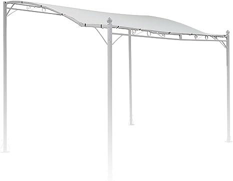 blumfeldt Allure Roof - Toldo Beige de Repuesto para pérgola Allure, Medidas: 3 x 2,5 m, Resistente Exterior, Poliéster 180 g/m², Protección ...