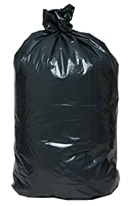 AEP 0232360 XXX Heavy Duty Can Liner, 33 Gallon, 1.8 ml, Black (Pack of 100)