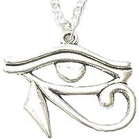 Inception Pro Infinite Collar con Colgante de Ojo símbolo Egipcio Horus Ra - Tercer Ojo