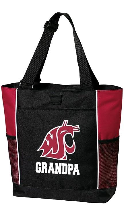 Broad Bay Iowa State Grandma Tote Bags Red Iowa State University Grandma Totes Beach Travel