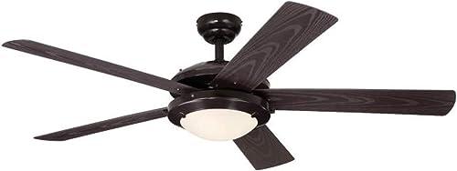 Ciata Lighting Comet 52-Inch Indoor/Outdoor Ceiling Fan