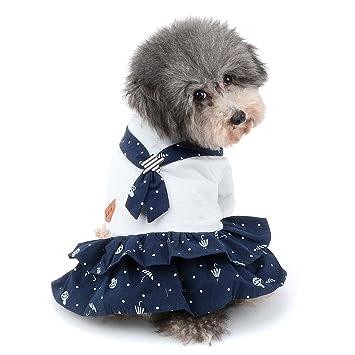 Ranphy 2018 - Disfraz de marinero para perros pequeños y ...