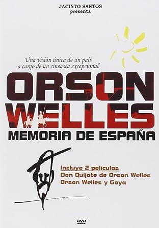 Orson Welles, Memoria De España (2 Discos) [DVD]: Amazon.es ...
