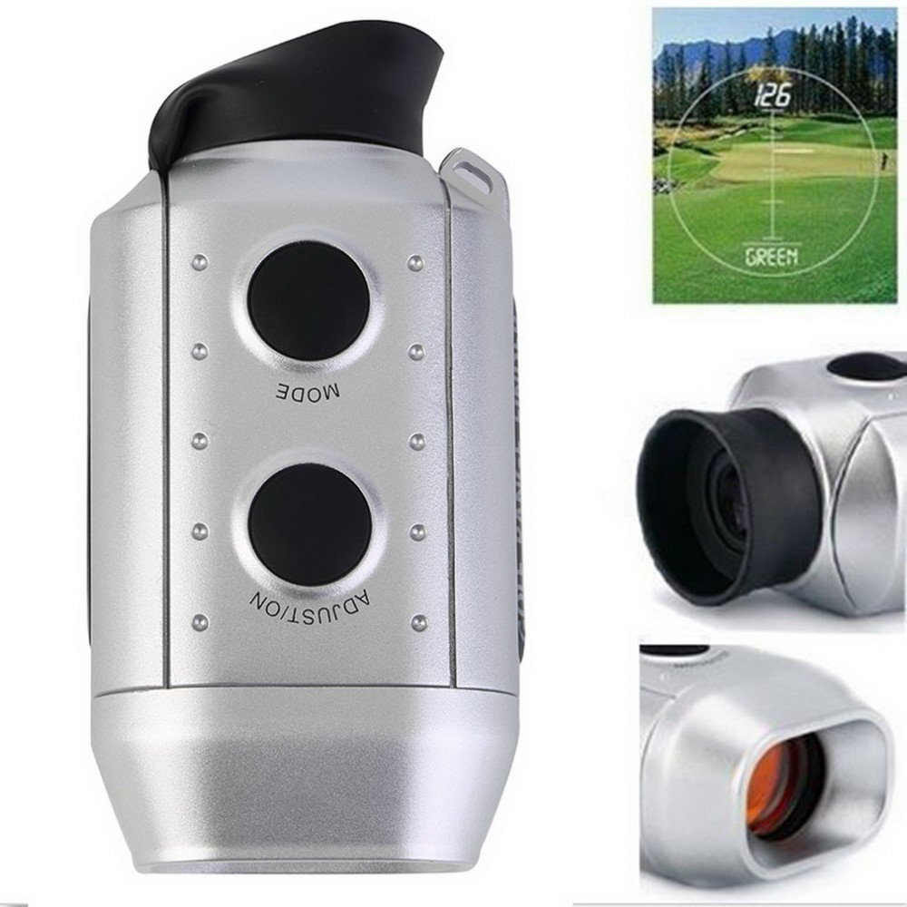 90mm x 50mm x 38mm Digital 7x RANGE FINDER Golf / Hunting Laser Range Finder.