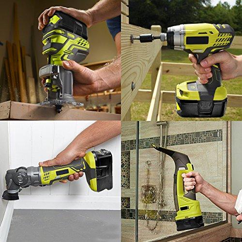 Energup 4 0Ah 18V Replacement Battery for Ryobi 18V Lithium Battery P102  P103 P105 P107 P108 P109 Ryobi ONE+ Cordless Tool